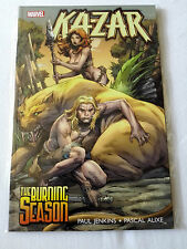 KAZAR-the Burning Season-Mavel FUMETTI-tradepaperback