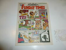 THE FUNDAY TIMES - No 70 - Date 06/01/1991 - Free Sunday Times Comic Supplement