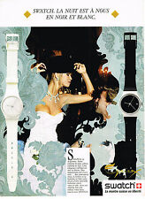 PUBLICITE  1987   SWATCH  montre collection EQUINOX