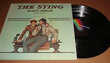 The Sting Soundtrack Vinyl LP Scott Joplin Marvin Hamlisch MCA Records MCA 390