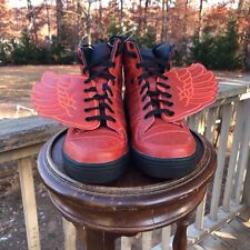 NEW US Size 7.5 Adidas Originals JS Jeremy Scott Red Wings S77803 B-BALL