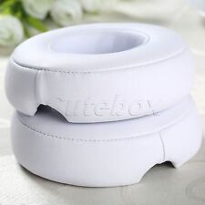 Soft White Ear Pad Cushion Replacement For Beats By Dr Dre PRO DETOX Headphone