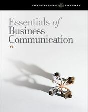 Essentials of Business Communication by Dana Loewy and Mary Ellen Guffey 9TH ED