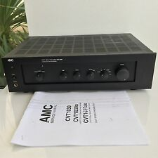 AMC CCVT Stereo Tube Preamplifier CVT 1030 Pre Amp Automation Series + manual