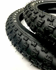 OLD SCHOOL BMX TIOGA COMP 3 ALL BLACK TYRES 24 X 1.75 SOLD IN PAIRS