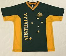 Adult Mens Sports Soccer Football Rugby Jersey Top T Shirt Australian Souvenir