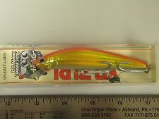 "Yo-Zuri F632-HGR Gold Red Crystal Aile MAGNET MAG MINNOW Lure NEW 4"" NIP"