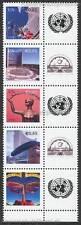 UNO WIEN - 2009 GRUSSMARKEN ESSEN 592-96 C (ANK 593-96) 5ER STREIFEN postfrisch