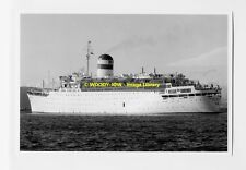 rp5256 - Russian Liner - Fedor Shalyapin , built 1954 ex Ivernia - photo 6x4