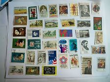 USA Used, 1971-73 issues, 38 different commemoratives,