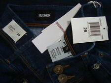 NWT HUDSON COLLIN Cover Pocket Skinny Jeans Wash CMBA Made in Mexico Sz 26