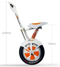 Airwheel A3 Motorized Moped Bike Electric Scooter seated Bluetooth speaker 520Wh