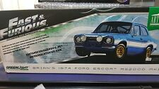 Greenlight 1:18 Fast and Furious - Brian's 1974 Ford Escort RS2000 Mk1 - New