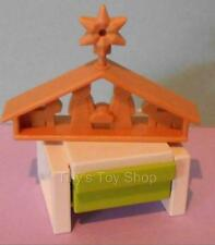 Playmobil   -  Dolls House/Advent -  Christmas Crib  & Drawer Unit - NEW