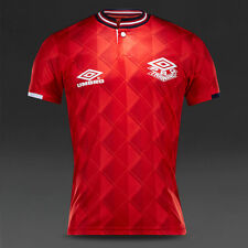UMBRO PRO TRAINING VINTAGE ENGLAND 1989 1990 AWAY SHIRT REPLICA EURO 2016 XXL