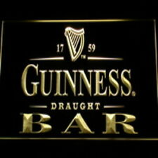 Guinness Draught LED neon Light Sign  Bar Beer Pub