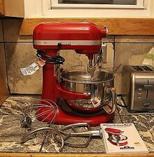 KitchenAid Rkp26M1x KP26M1X Pro 600 Stand Mixer 6-qt Large Capacity Used