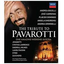Tribute to Pavarotti - One Amazing Weekend in Petra, New DVDs
