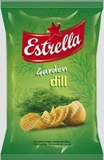 ESTRELLA Garden Dill Potato Chips 75g 2.65oz