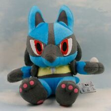 "New 7.5"" 19CM Lucario Pokemon Cute Soft Plush Toy Doll Kids Gift"