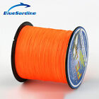 300M Orange Multifilament PE Braided Fishing Line Super Strong Braid Wires