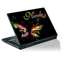 TaylorHe Personalized Laptop Decal Vinyl Skin Sticker With YOUR NAME P168