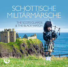 CD Escocesa Marchas militares de The Scots Guards & the Reloj Negro