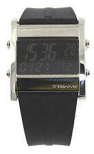 Tag Heuer Microtimer CS111C.FT6003 Digital Quartz Black Rubber Men's Watch