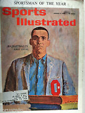 1962 OHIO STATE BUCKEYES JERRY LUCAS SPORTSMAN OF THE YEAR Sports Illustrated