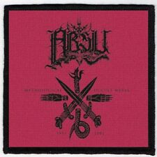 ABSU PATCH / SPEED-THRASH-BLACK-DEATH METAL