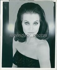 1966 Portrait of Actress Anita Ekberg Original News Service Photo