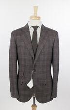 NWT BRUNELLO CUCINELLI Brown Wool Blend Sport Coat Blazer 48/38 R $3495