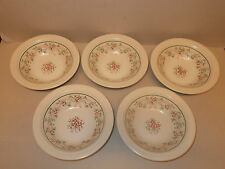 5 x Silk 'n' Flowers Oven to Tableware 17.2cm Cereal Dessert Soup bowls - Lovely