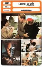 FICHE CINEMA : L'ESPRIT DE CAIN - Lithgow,De Palma 1992 Raising Cain