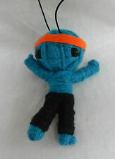 Voodoo String Doll - Keyring / Mobile Phone / HandBag Charm