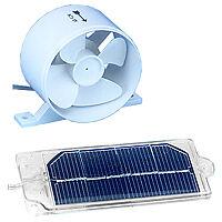 NEVERA Solar Ventilador Fan, para uso en caravana, aumenta Nevera Refrigeración!