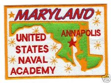 US NAVY BASE PATCH, US NAVAL ACADEMY, ANNAPOLIS MARYLAND                     Y