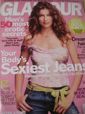 august 2004 Glamour Laetitia Casta sexy cover SEXY LOOK