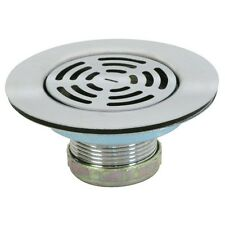"4-1/2"" Flat Sink Strainer Stainless Steel by Aqua Plumb #2104"