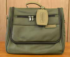 Briggs & Riley Travelware Carry On Luggage Olive Green Bag Overnighter