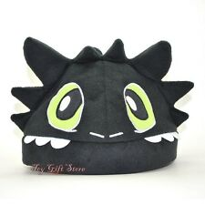 How To Train Your Dragon Toothless Night Fury Plush Hat Cap #1