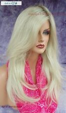 LACE FRONT MONOTOP DESIGNER WIG  *ROOTED BLOND ✮ BLOND BOMBSHELL HEADS WILL TURN