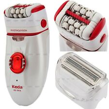 Electric Rechargeable Hair Remover Women's Razor Shaver Epilator Bikini Armpit