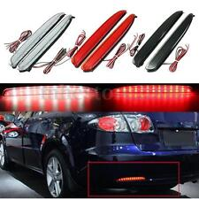 2x 24 LED Car Rear Bumper Reflector Brake Stop Running Light For Mazda 6 03-08