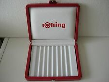 Rotring Box Red For 8 Pens 600 Initial Esprit Newton 700 Never Used RARE