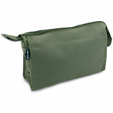 Basic Military Army Travel Cadet Scout Camping Hiking Wash Bag Kit Pouch Green