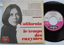LOUISE FORESTIER California VG++ PSYCH FRANCE ORIG 1970 P/S Charlebois QUEBEC