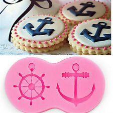 1 Pcs Silicone Fondant Mould for Candy Anchor Shape Cake Decorating Cupcake Mold