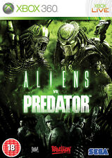 Aliens vs Predator ~ XBox 360 (in Good Condition)