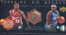 2004-05 Upper Deck UD Rivals LeBron vs. Carmelo FACTORY SEALED 31-Card Set AUTO?
